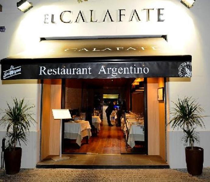 Restaurante restaurante argentino el calafate en barcelona for Fachada para restaurante